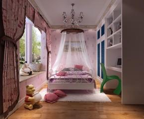 简约 欧式 混搭 白领 小资 高度国际 小清新 温馨舒适 儿童房图片来自高度国际王慧芳在简约欧式四室三卫三厅御翠尚府的分享