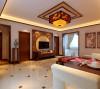 两居室新中式风格装修