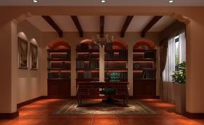 托斯卡纳 混搭 白领 三居 收纳 小资 高度国际 小清新 温馨舒适 书房图片来自高度国际王慧芳在舒适温馨、明亮大气的金色漫香苑的分享