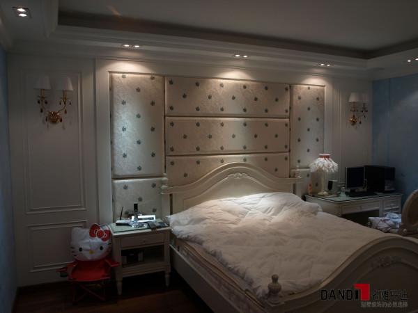 名雕丹迪设计——清水湾别墅——欧式风格——女孩房