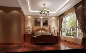 简约 欧式 混搭 白领 小资 高度国际 小清新 温馨舒适 卧室图片来自高度国际王慧芳在简约欧式四室三卫三厅御翠尚府的分享
