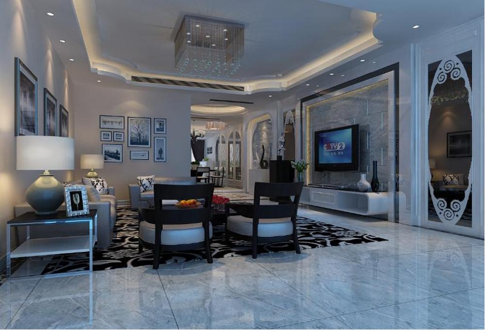 客厅图片来自深圳市浩天装饰在龙丽苑的分享