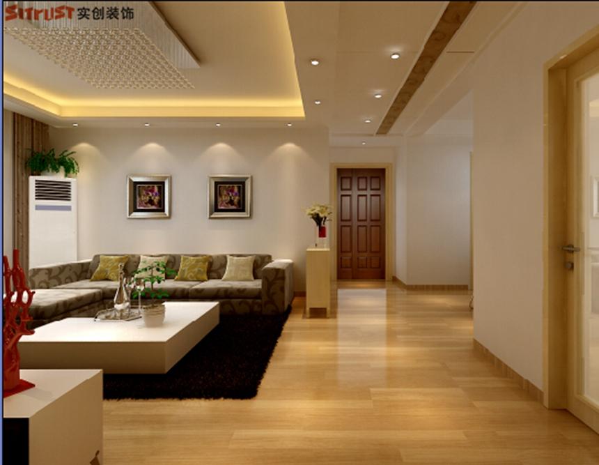 欧式 田园 混搭 二居 三居 别墅 简约 客厅图片来自北京实创集团在石家庄保利花园装修-98平B5户型的分享
