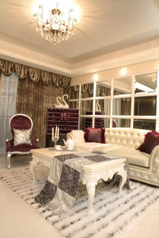欧式风格 大户型 80后 小资 客厅图片来自今朝装饰小魏在金和嘉园欧式风格的分享