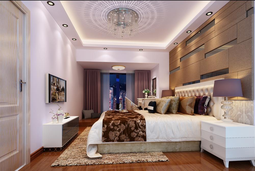 卧室图片来自深圳市浩天装饰在景庭苑的分享