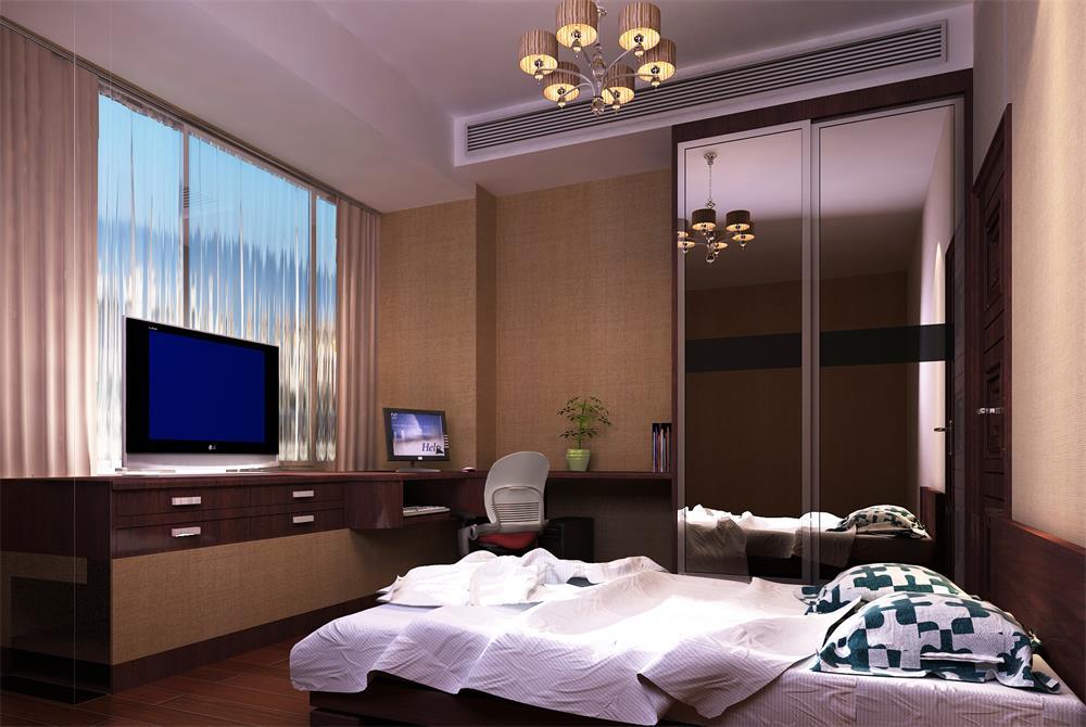 卧室图片来自深圳市浩天装饰在谱心苑的分享