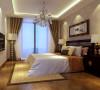 卧室在组合上注意空间搭配,充分利用每一寸空间,且不显局促、不失大气,尤其在选色上,采用自然的柔和色彩,集装饰与应用于一体;在柜门等组合搭配上不琐碎,让人处处感受到浪漫主义气息和兼容并蓄的文化品位。