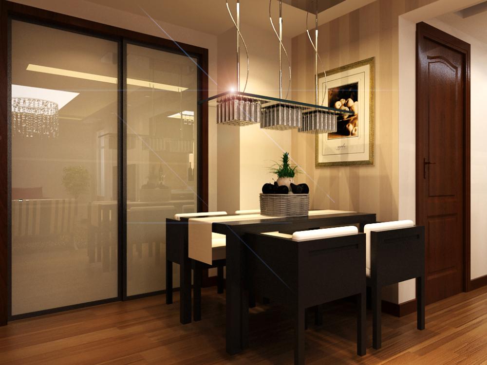 简约 二居 白领 小资 餐厅图片来自天津宜家宜装饰在紫竹华庭的分享