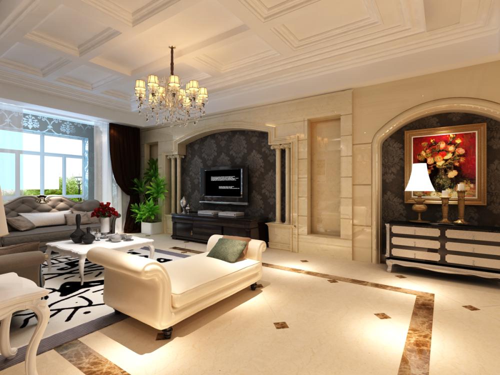 欧式 小资 客厅图片来自天津宜家宜装饰在融侨观邸的分享