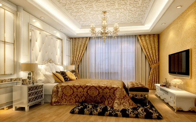 卧室图片来自xushuguang1983在学清苑A12户型125平定制简装修的分享