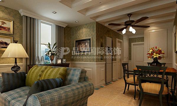简约 田园 混搭 三居 白领 80后 客厅图片来自石家庄亿佰居装饰在万达122平托斯卡纳风格的分享