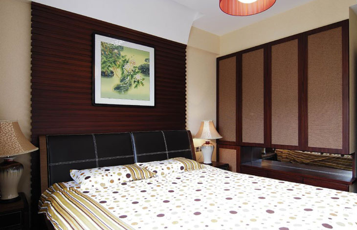 中式 三居 白领 80后 小资 中原新城 卧室图片来自沪上名家装饰在中国韵味的中原新城的分享