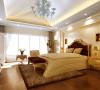 将屋顶阁楼设置为卧室,有一种身入童话的梦幻感,漂亮的落地窗户配上白色唯美纱质窗帘  ,浪漫而又温馨,精美的油画,制作精良的欧式雕塑工艺品,都是渲染欧式风格的必要品。