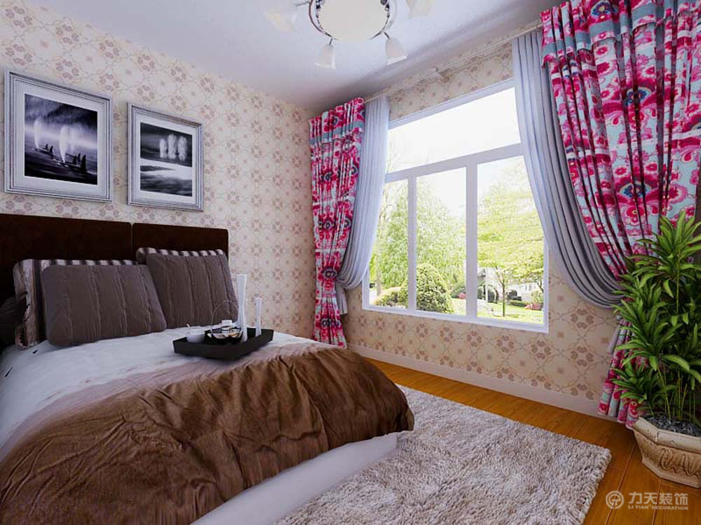 简约 二居 别墅 白领 收纳 80后 小资 卧室图片来自阳光力天装饰梦想家更爱家在金泰丽湾B户型3室1厅92平米的分享