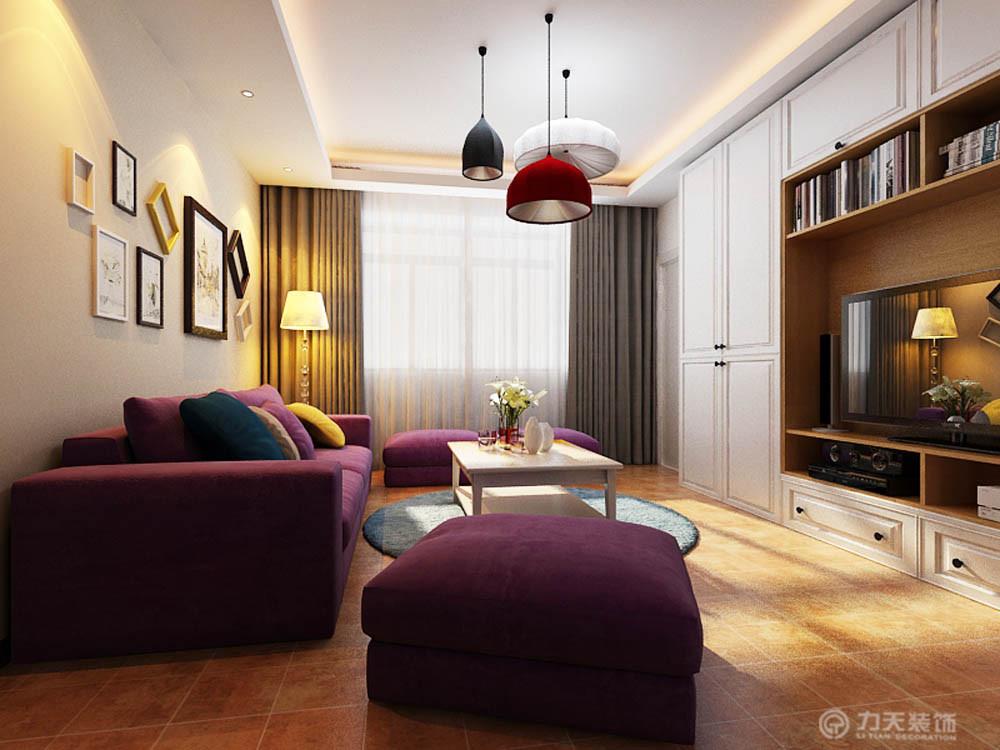 二居 简约 白领 收纳 80后 小资 客厅图片来自阳光力天装饰梦想家更爱家在华城领秀 两室两厅91平的分享