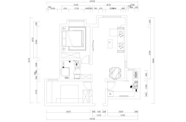 本户型为金旭园两室两厅一厨一卫81平米,入户门进来时玄关位置,右手版第一个空间是厨房, 逆时针方向第二个空间是餐厅接下来是客厅和阳台,然后是主卧室、卫生间最后是次卧室户型整体采光良好功能分区明确。