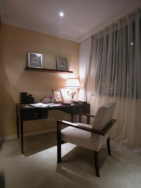 古典 跃层 装修设计 图片 温馨 书房图片来自香港古兰装饰-成都在古典跃居设计温馨的家的分享