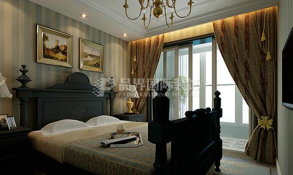 简约 田园 混搭 三居 白领 80后 卧室图片来自石家庄亿佰居装饰在万达122平托斯卡纳风格的分享