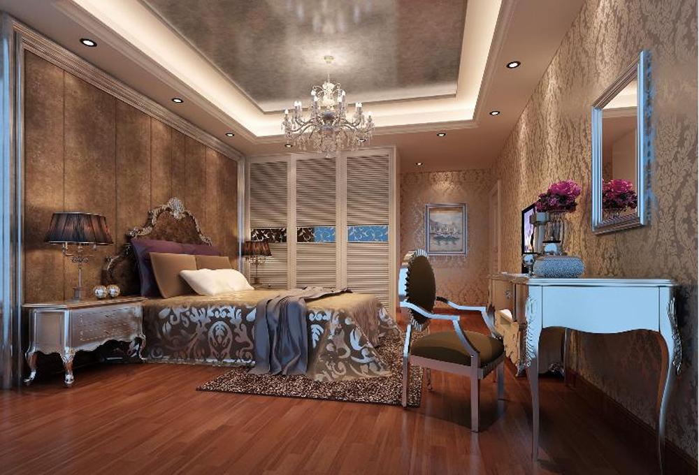 卧室图片来自深圳市浩天装饰在文华大厦的分享