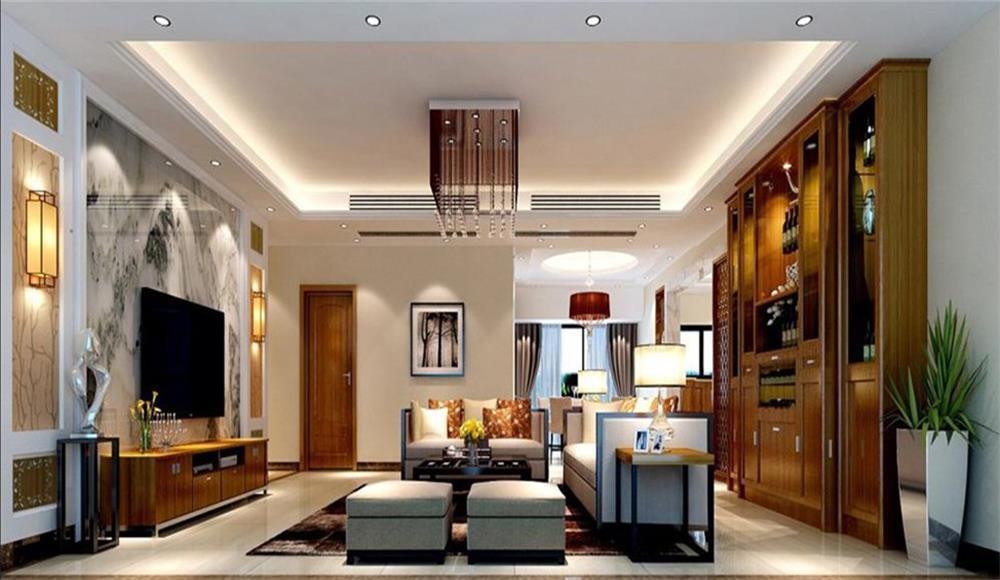 客厅图片来自深圳市浩天装饰在中民时代广场的分享