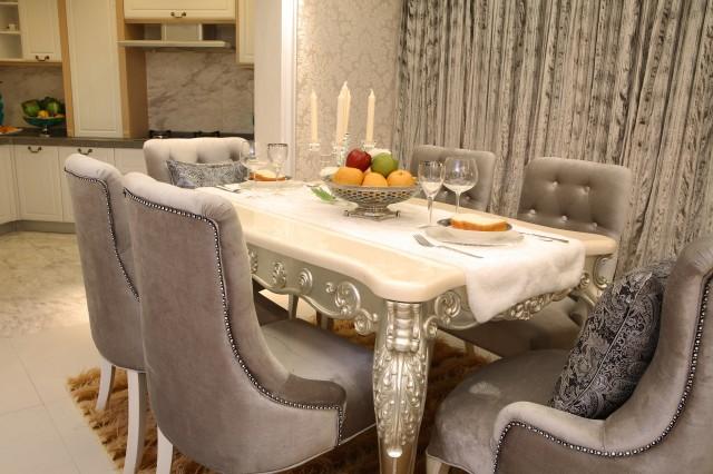 欧式风格 大户型 80后 小资 餐厅图片来自今朝装饰小魏在金和嘉园欧式风格的分享