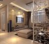客厅采用简约大气为主题风格,整体以暖色调为主,电视墙上采用的米黄色大理石,既显业主的生活品味,也把整个装修的档次进地了一个完美的提升。