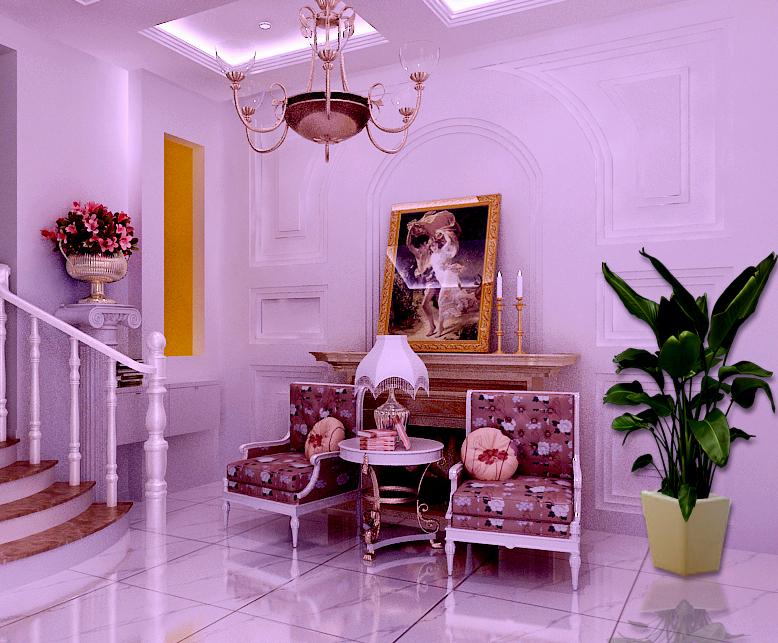 简约 欧式 复式 收纳 80后 小资 客厅图片来自实创装饰百灵在粉嫩简约169㎡金地格林小镇复式的分享