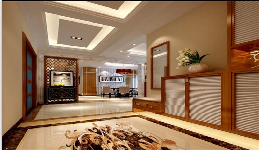 玄关图片来自深圳市浩天装饰在中民时代广场的分享