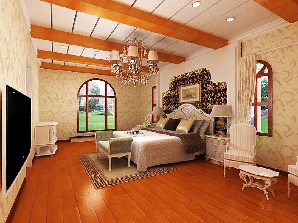 欧式 别墅 收纳 卧室图片来自天津宜家宜装饰在津南新城的分享