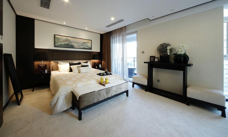 新中式 别墅 80后 小资 卧室图片来自今朝装饰小魏在孔雀城新中式风格的分享