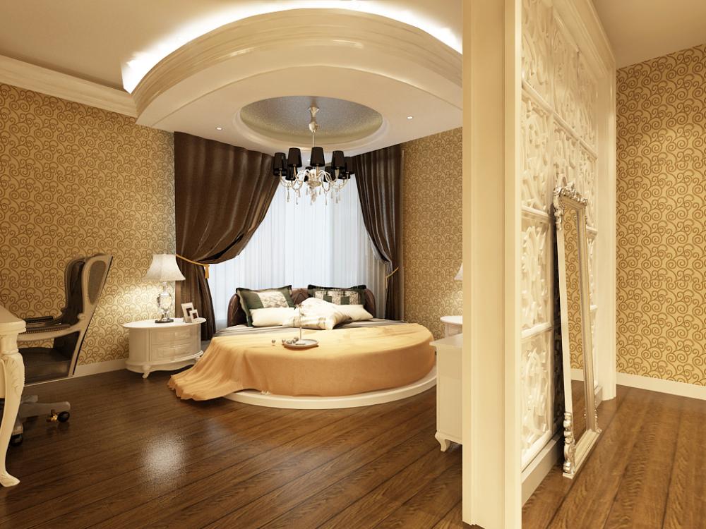 欧式 小资 卧室图片来自天津宜家宜装饰在融侨观邸的分享