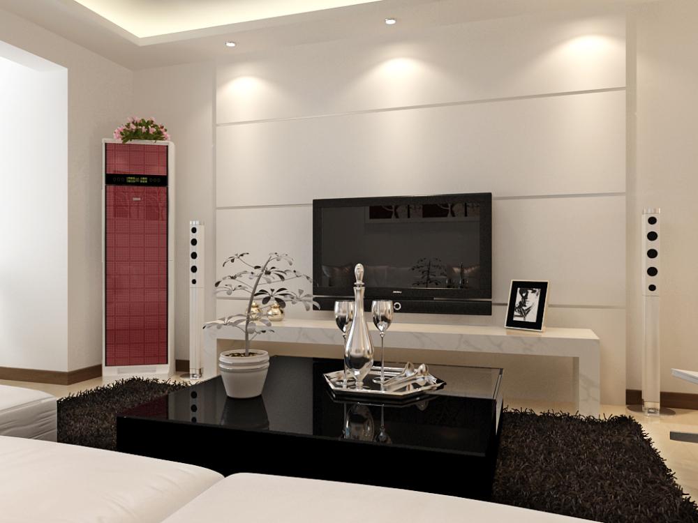 简约 二居 收纳 小资 客厅图片来自天津宜家宜装饰在奥莱城的分享