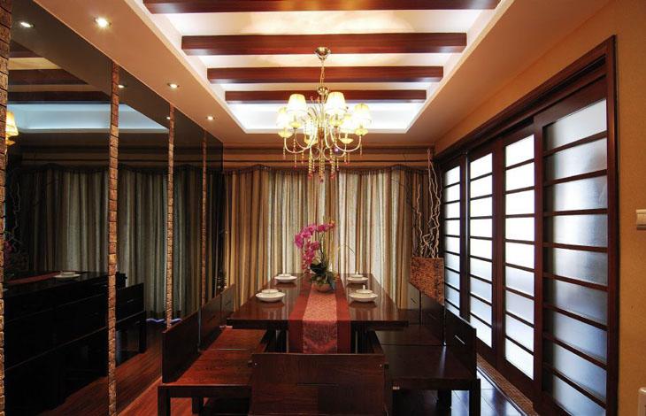 中式 三居 白领 80后 小资 中原新城 餐厅图片来自沪上名家装饰在中国韵味的中原新城的分享