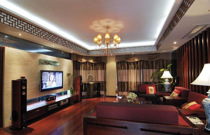 中式 三居 白领 80后 小资 中原新城 客厅图片来自沪上名家装饰在中国韵味的中原新城的分享
