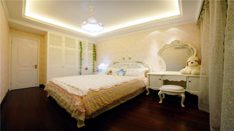 卧室图片来自山水人家装饰在世茂锦绣长江--120平简欧的分享