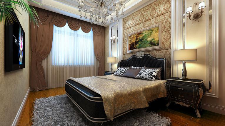 三居 欧式 简约 卧室图片来自高度国际首席设计师-闫奇在老通州新面貌的分享