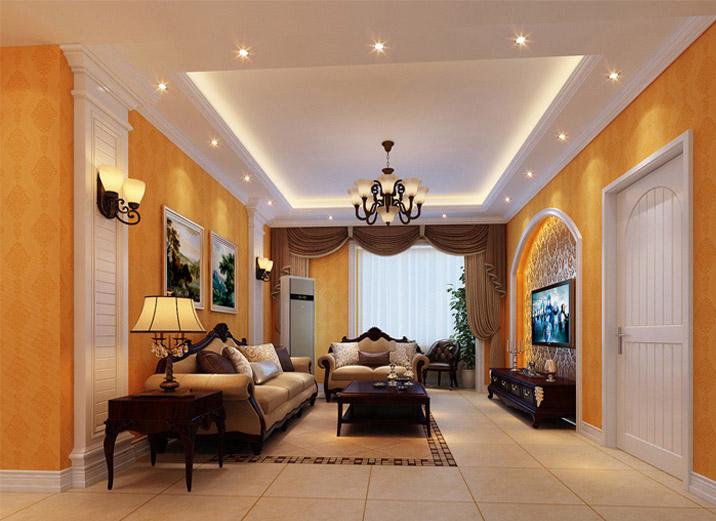 欧式 二居 西宁实创装 欧式装修 奢华欧式 客厅图片来自西宁实创装饰在12万浪漫欧式实景效果图大pk的分享