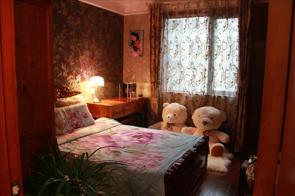 元洲 元洲装饰 美式风格 润泽公馆 北京装修 卧室图片来自元洲小贝在108平米中式风格的分享