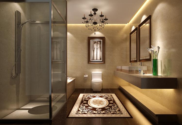 别墅图片来自高度国际装饰舒博在新中式的分享