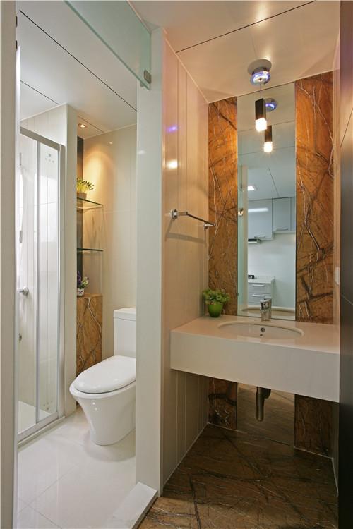 简约 80后 白领 混搭 卫生间图片来自长沙金煌装饰在简单生活的分享