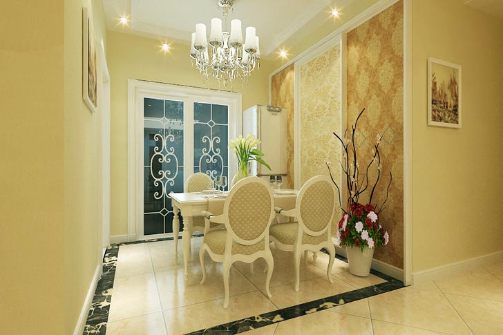 维多利亚 业之峰装饰 简约欧式 三居 餐厅图片来自石家庄业之峰装饰在维多利亚简约欧式三居室的分享