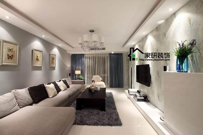 简约 欧式 田园 混搭 二居 三居 别墅 白领 收纳 客厅图片来自上海倾雅装饰有限公司在清新淡雅三居室的分享