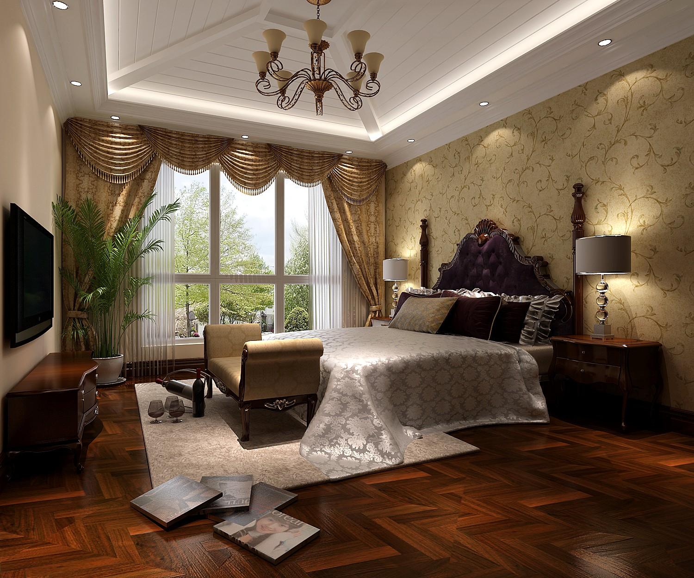 高度国际 混搭 三居 白领 80后 小资 白富美 高富帅 复式 卧室图片来自北京高度国际装饰设计在鲁能七号院复式奢华公寓的分享