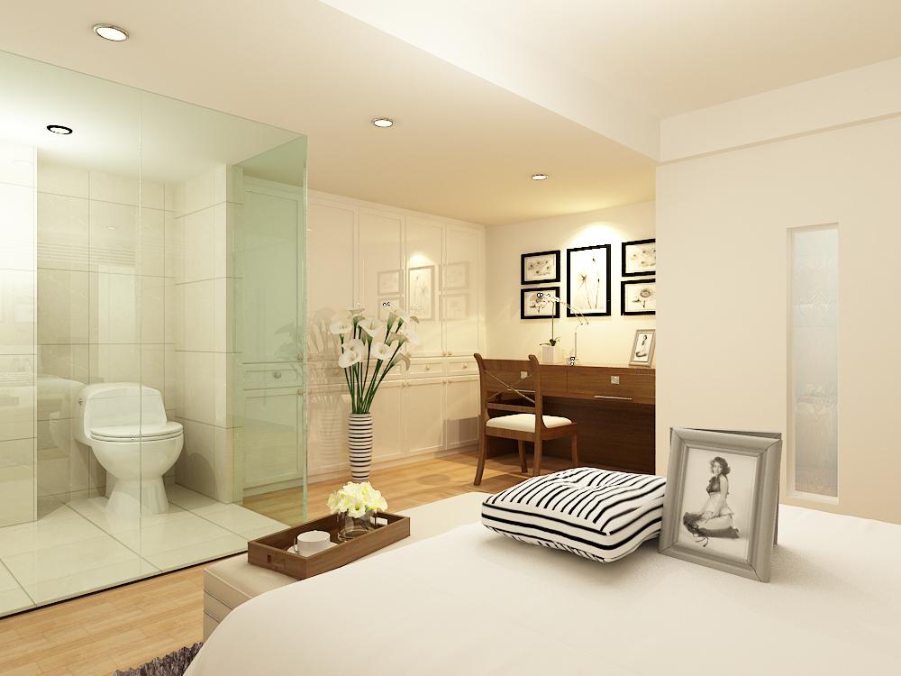 简约 二居 白领 收纳 卧室图片来自天津宜家宜装饰在华城景苑的分享