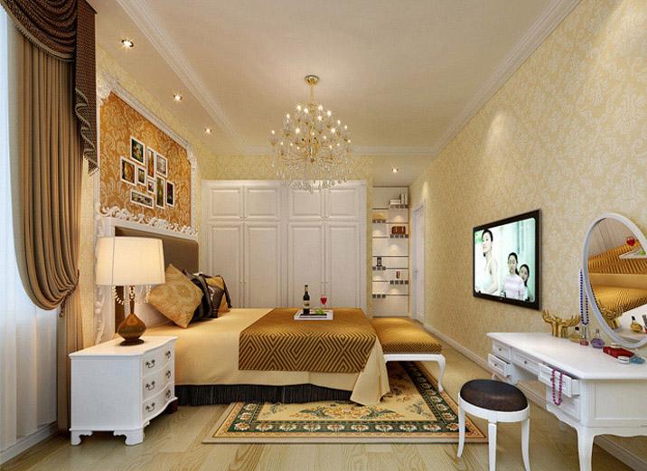 欧式 二居 西宁实创装 欧式装修 奢华欧式 卧室图片来自西宁实创装饰在12万浪漫欧式实景效果图大pk的分享