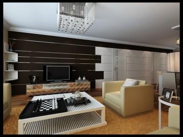 金和家园 103平现代简约风格