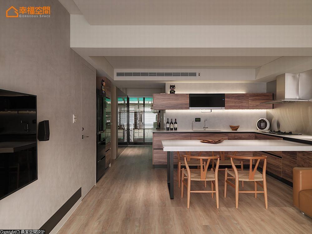 休闲风格 现代 三居 旧房改造 厨房图片来自幸福空间在细腻隽永 99平静谧美宅的分享