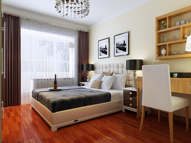 卧室图片来自今朝装饰小闫在东铁营老房改造的分享
