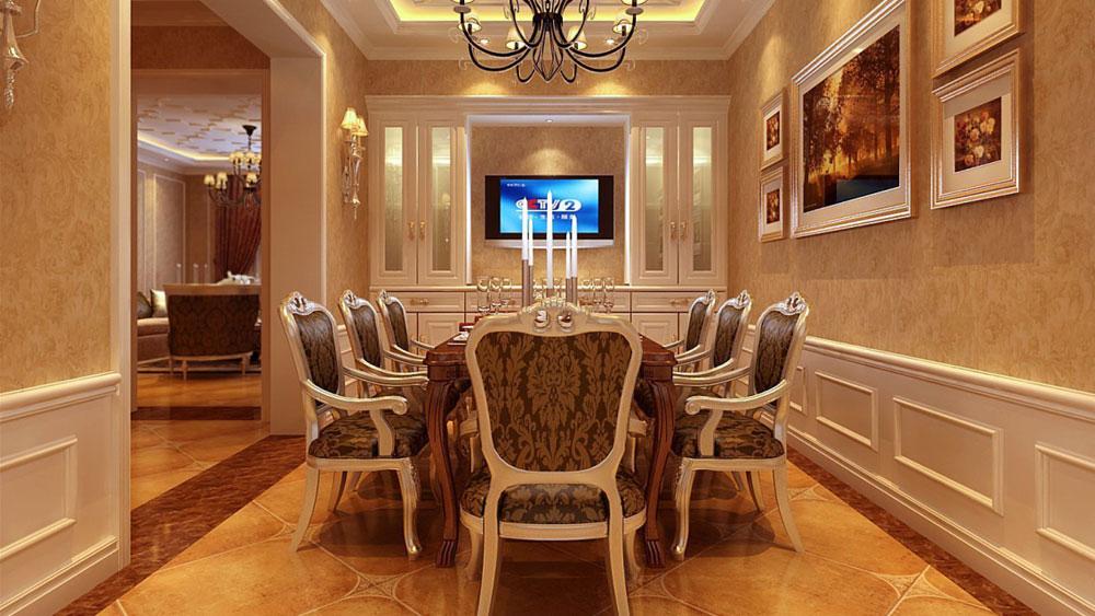 三居 欧式 别墅设计 别墅装修 北京设计 北京装修图片来自高度国际装饰韩冰在经典的欧式打造不一样的家的分享