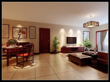 160平米四居—现代中式风格 欣赏